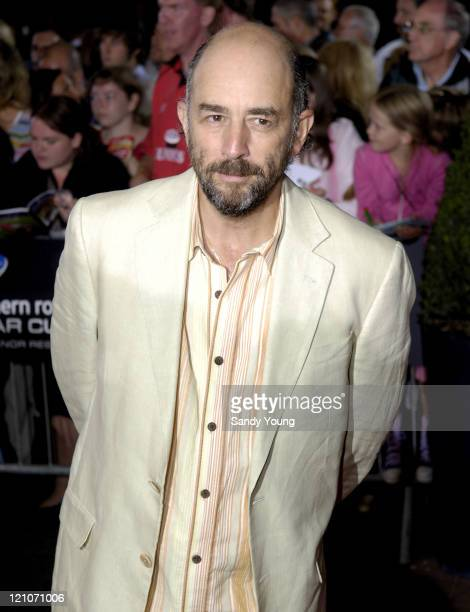 Richard Schiff during The Northern Rock All Star Charity Gala Red Carpet at Celtic Manor Resort in Newport Great Britain