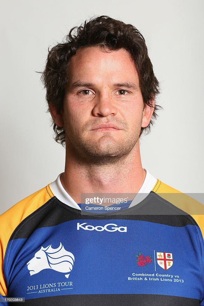 Richard Stanford of the Combined NSW/QLD Country team poses during a headshots session at The Crowne Plaza on June 9, 2013 in Newcastle, Australia.