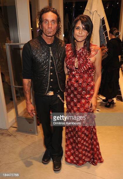 Richard Stark and Laurie Lynn Stark attend a Jesse Jo Stark performance at The Alchemist for Art Basel at The Alchemist on December 1 2011 in Miami...