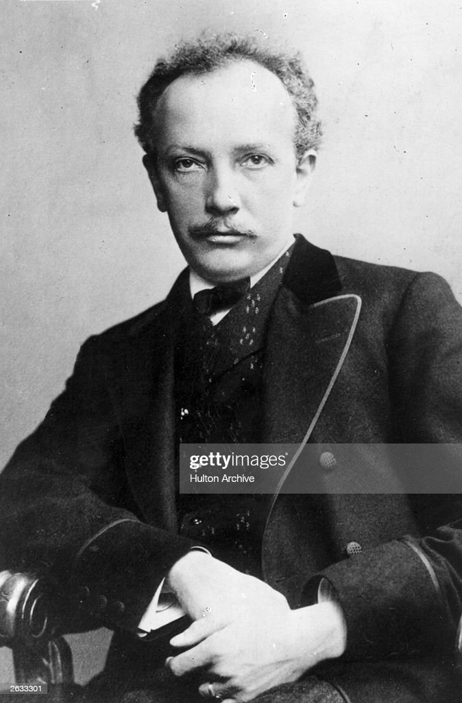 <a gi-track='captionPersonalityLinkClicked' href=/galleries/search?phrase=Richard+Strauss+-+Composer&family=editorial&specificpeople=239044 ng-click='$event.stopPropagation()'>Richard Strauss</a> (1864 -1949), the German composer. Original Publication: People Disc - HJ0231