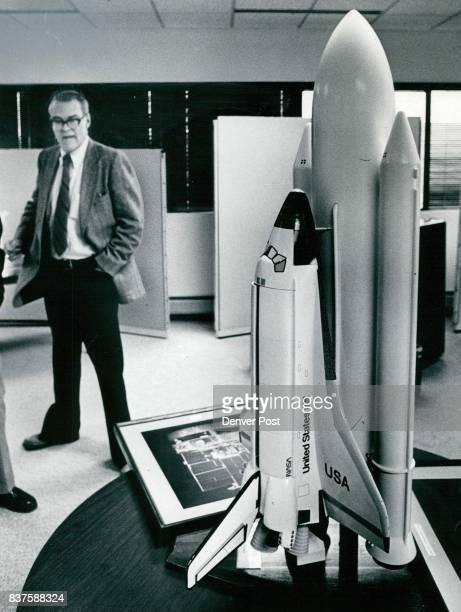 Richard T Ekrem Is Vice President Model is of NASA space shuttle Credit Denver Post
