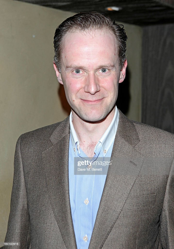 Richard Teverson attends an after party following the press night performance of The Old Vic's 'The Winslow Boy' at Baltic Restaurant on March 19, 2013 in London, England.