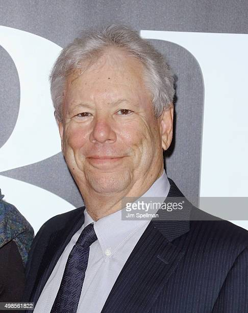 Richard Thaler attends the 'The Big Short' New York premiere at Ziegfeld Theater on November 23 2015 in New York City