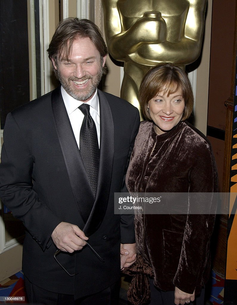 Richard Thomas and Georgianna Thomas during The Academy of Motion Picture Arts & Sciences 2004 Oscar Night Party at Le Cirque 2000 in New York City, United States.