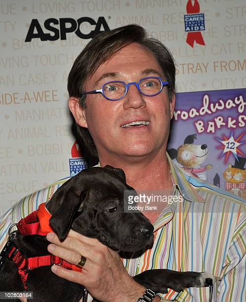 Richard Thomas attends the 12th Annual Broadway Barks in Shubert Alley on July 10 2010 in New York City