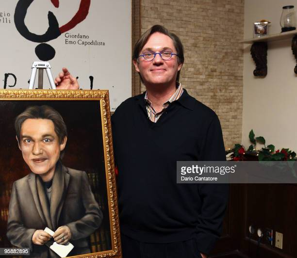 Richard Thomas attends the unveiling of his Broadway Wall of Fame portrait at Tony's di Napoli on January 19 2010 in New York City