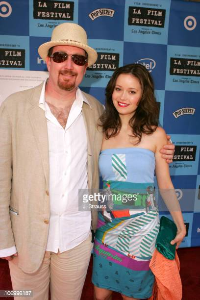 Richard Titus and Summer Glau during 2006 Los Angeles Film Festival 'Who Killed The Electric Car' Screening and 'Green Day' Fair at Westwood in...
