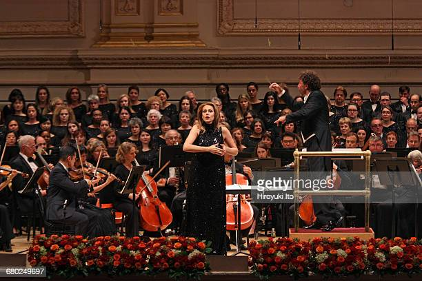 Richard Tucker Gala at Carnegie Hall on Sunday night October 30 2016 This image Kristine Opolais performed an aria from Dvorak's 'Rusalka' with the...