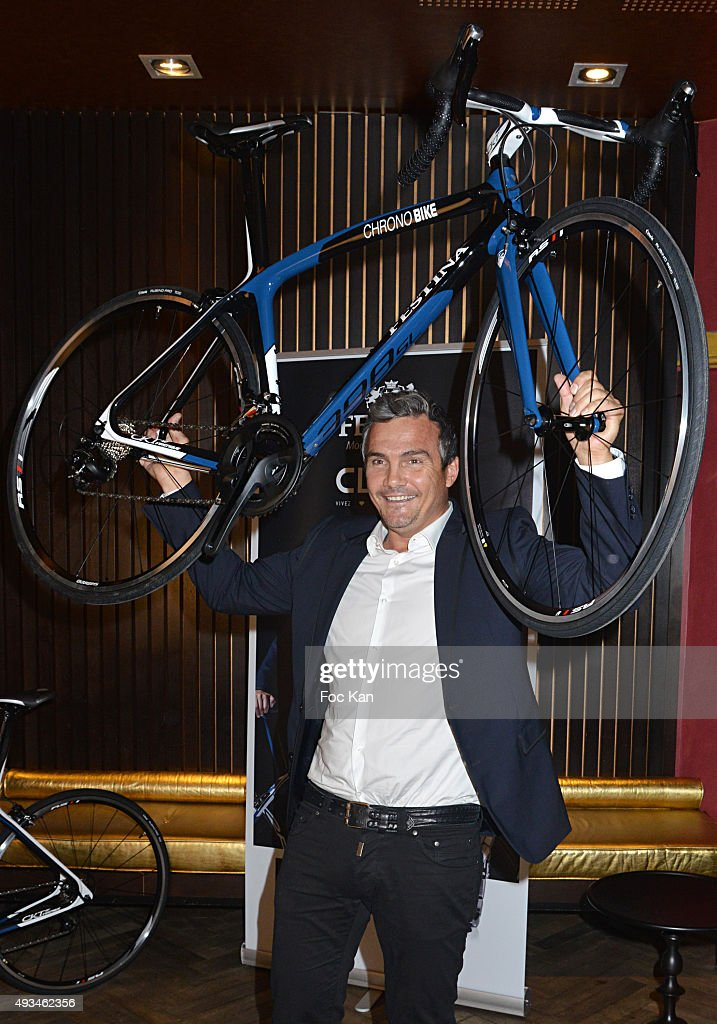 Festina and Cleor Young Bikers Challenge Awards hosted by Richard Virenque in Paris