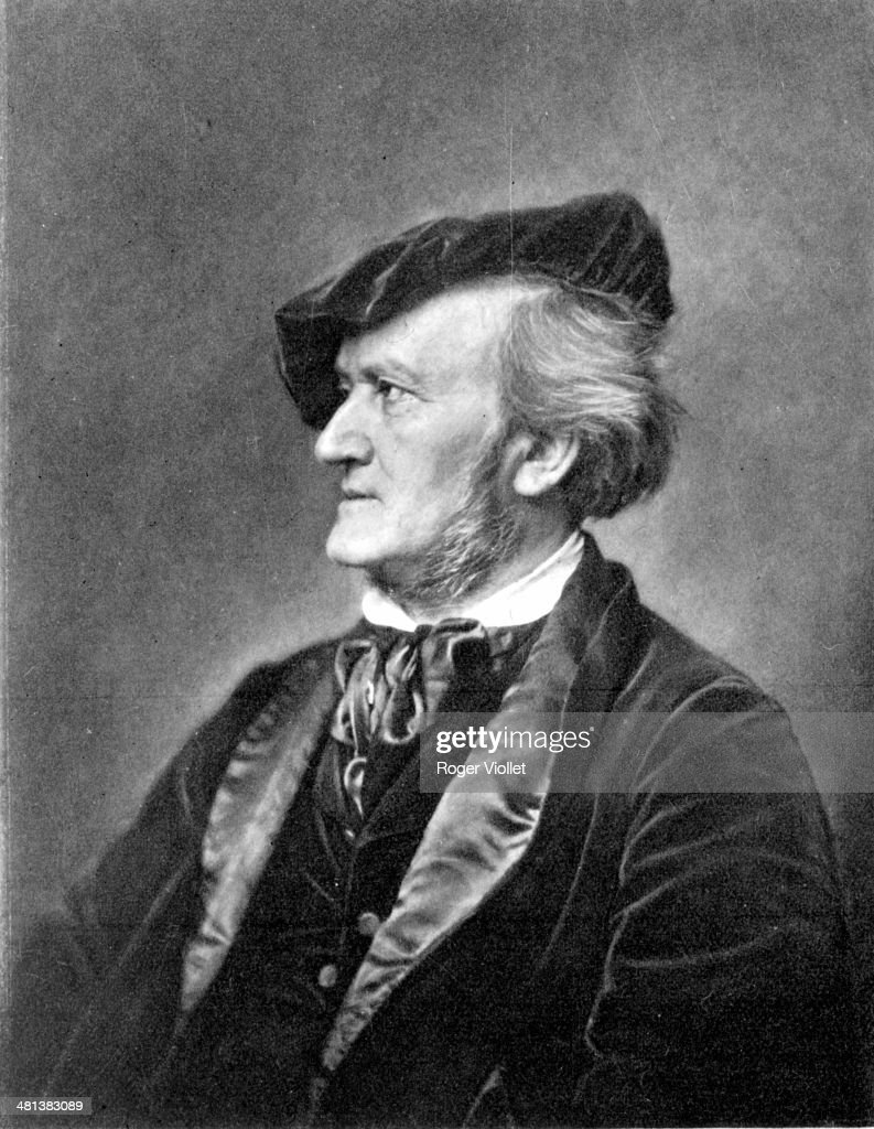 <a gi-track='captionPersonalityLinkClicked' href=/galleries/search?phrase=Richard+Wagner+-+Composer&family=editorial&specificpeople=118790 ng-click='$event.stopPropagation()'>Richard Wagner</a> (1813-1883), German composer. Engraving.