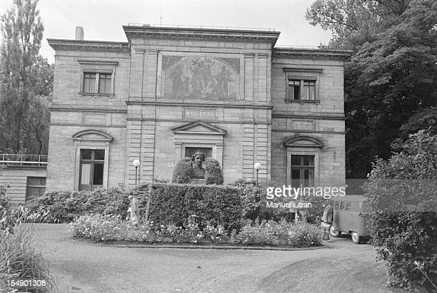 Richard Wagner the places that marked his life the villa Wahnfried he built in Bayreuth from 1872 to 1874 by a grant of his friend Louis II King of...