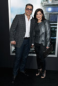 Richard Wakile and Kathy Wakile attend the 'Chappie' New York Premiere at AMC Lincoln Square Theater on March 4 2015 in New York City