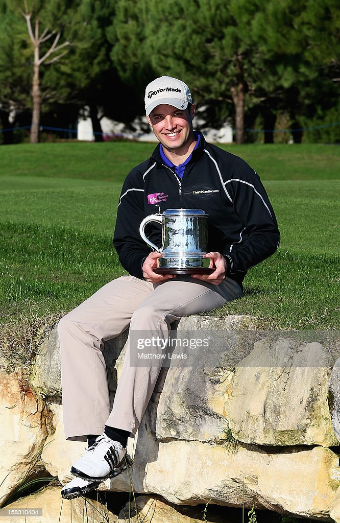 Richard Wallis of Walmer and Kingsdown Golf Club pictured after winning the final day of the Titleist PGA Play-Offs at the PGA Sultan Course, Antalya Golf Club on December 13, 2012 in Antalya, Turkey.