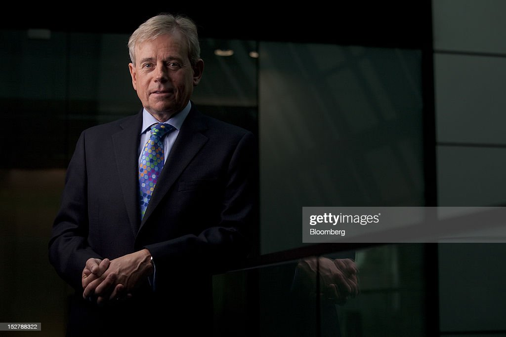 Richard Ward, chief executive officer of Lloyds of London Ltd, poses for a photograph following a Bloomberg Television interview in London, U.K., on Wednesday, Sept. 26, 2012. Lloyd's of London, the world's oldest insurance market, announced a profit of £1.53bn ($2.4bn) for the six-month period ending June 2012. Photographer: Simon Dawson/Bloomberg via Getty Images
