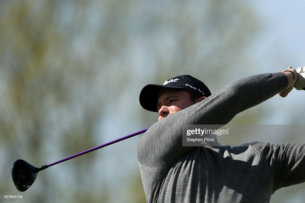 Richard Webb of Tilsworth Golf Centre during the PGA Professional Championship East Qualifier at Gog Magog Golf Club on May 3, 2016 in Cambridge, England.