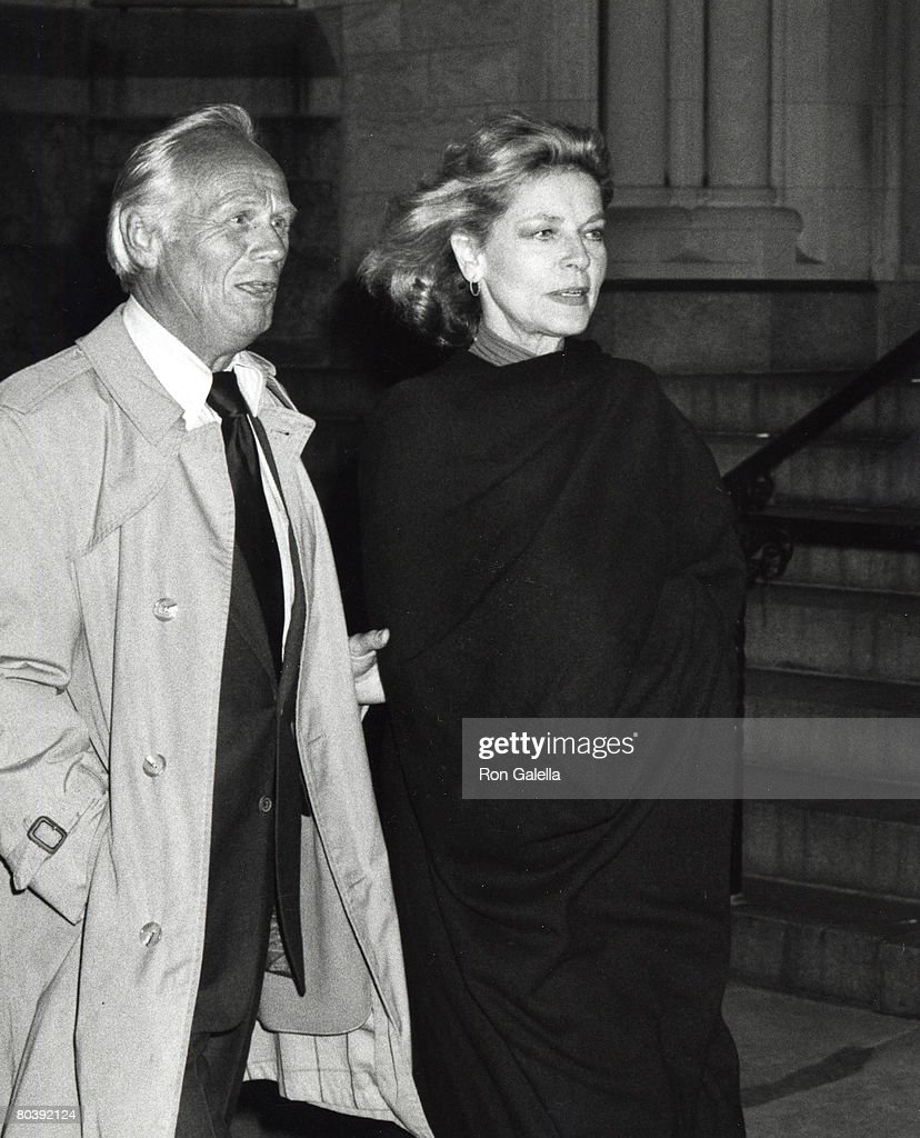 Richard Widmark and <a gi-track='captionPersonalityLinkClicked' href=/galleries/search?phrase=Lauren+Bacall&family=editorial&specificpeople=91371 ng-click='$event.stopPropagation()'>Lauren Bacall</a>