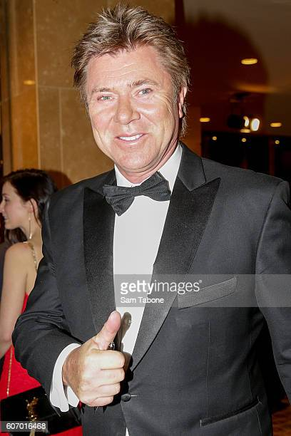 Richard Wilkins arrives ahead of the Olivia NewtonJohn Gala at Crown Palladium on September 17 2016 in Melbourne Australia