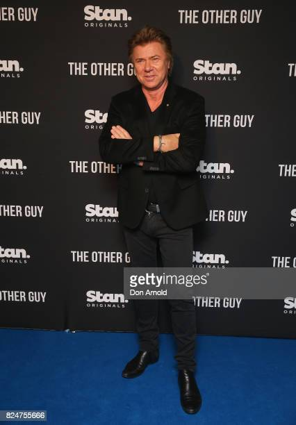Richard Wilkins arrives ahead of the premiere of Matt Okine's new series 'The Other Guy' at Museum of Contemporary Art on July 31 2017 in Sydney...