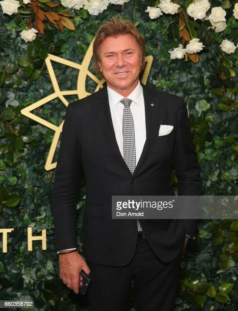 Richard Wilkins arrives ahead of the Star Doncaster Mile Inaugural Luncheon at The Star on March 30 2017 in Sydney Australia
