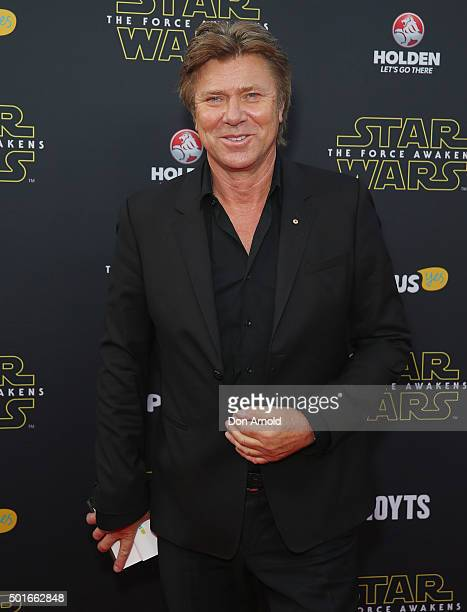 Richard Wilkins arrives ahead of the 'Star Wars The Force Awakens' Australian premiere on December 16 2015 in Sydney Australia