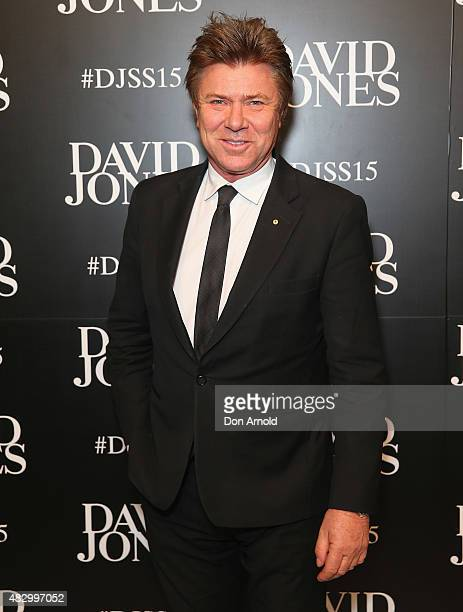 Richard Wilkins arrives at the David Jones Spring/Summer 2015 Fashion Launch on August 5 2015 in Sydney Australia
