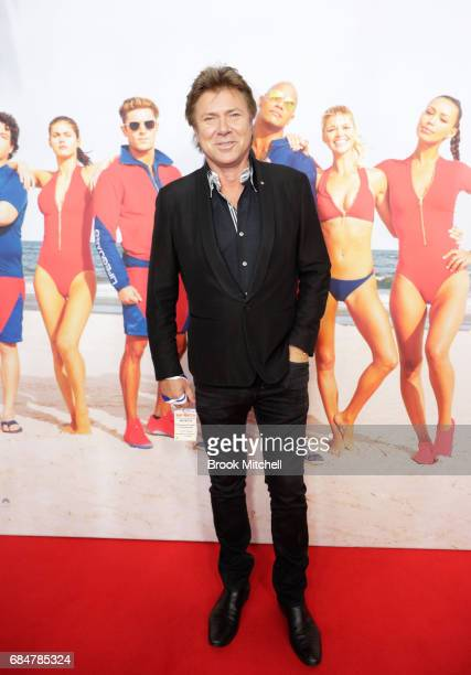 Richard Wilkins attends the Australian premiere of 'Baywatch' at Hoyts EQ on May 18 2017 in Sydney Australia