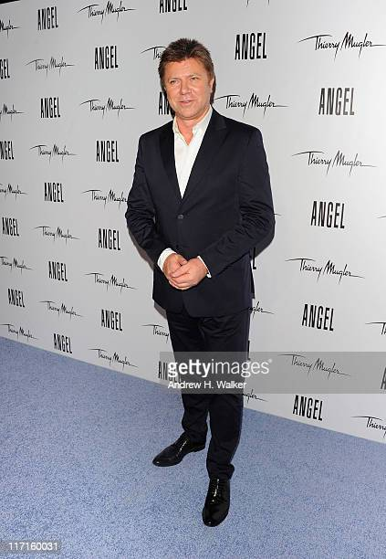 Richard Wilkins attends the Eva Mendes launch of her new campaign for Angel by Thierry Mugler at IAC Building on June 23 2011 in New York City