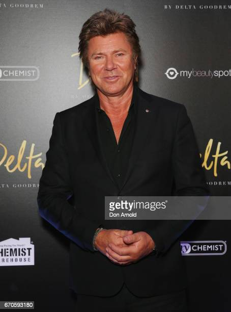Richard Wilkins poses at the launch of Delta by Delta Goodrem on April 20 2017 in Sydney Australia