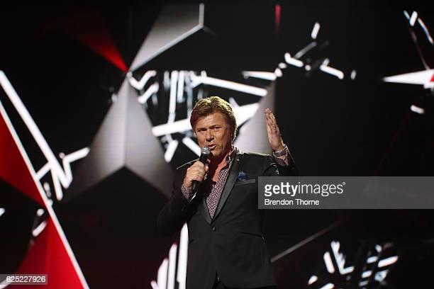 Richard Wilkins presents on stage during the 30th Annual ARIA Awards 2016 at The Star on November 23 2016 in Sydney Australia