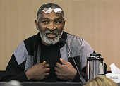 Richard Williams father of tennis stars Venus and Serena WIlliams testifies in Palm Beach County Court December 9 2005 in West Palm Beach Florida...