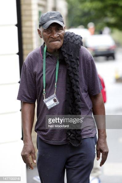 Richard Williams seen attending Wimbledon Day 7 on July 2 2012 in London England