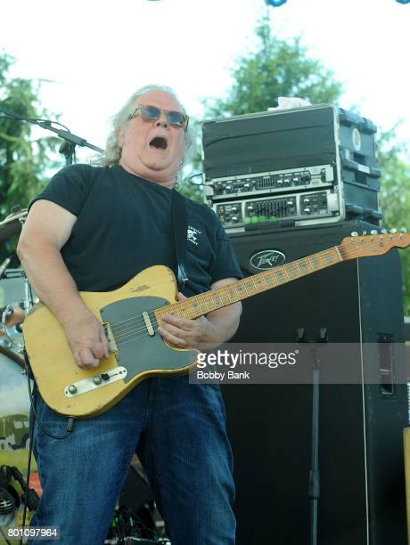 Richard Young of The Kentucky Headhunters performs at the 8th Annual Rock Ribs Ridges Festival at Sussex County Fairgrounds on June 25 2017 in...