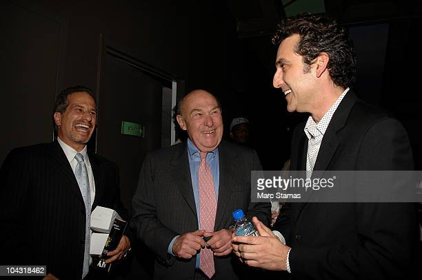 Richard Zabel Alan Lamb and Executive Producer Jason Richman attend the opening night party for the 6th annual New York Television Festival at the...