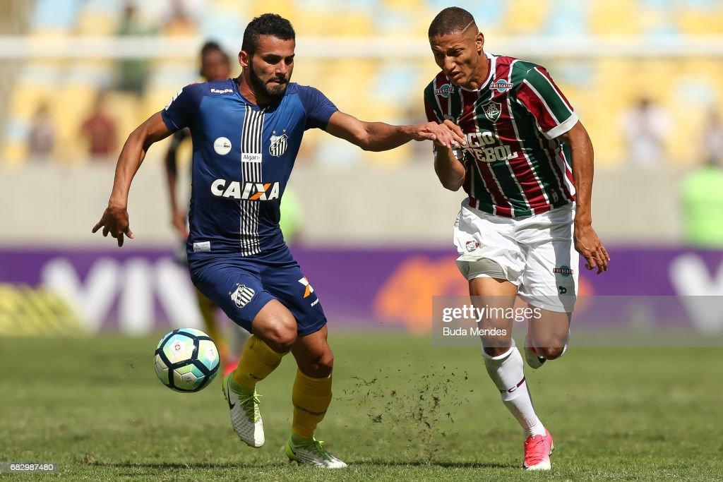 Fluminense v Santos - Brasileirao Series A 2017