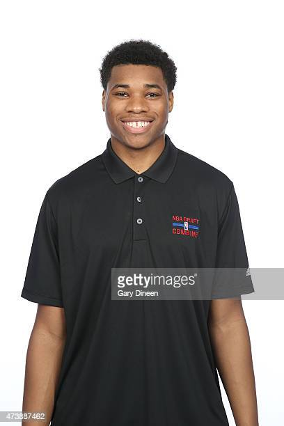Richaun Holmes poses for a headshot during the 2015 NBA Draft Combine on May 16 2015 at Northwestern Memorial Hospital in Chicago Illinois NOTE TO...