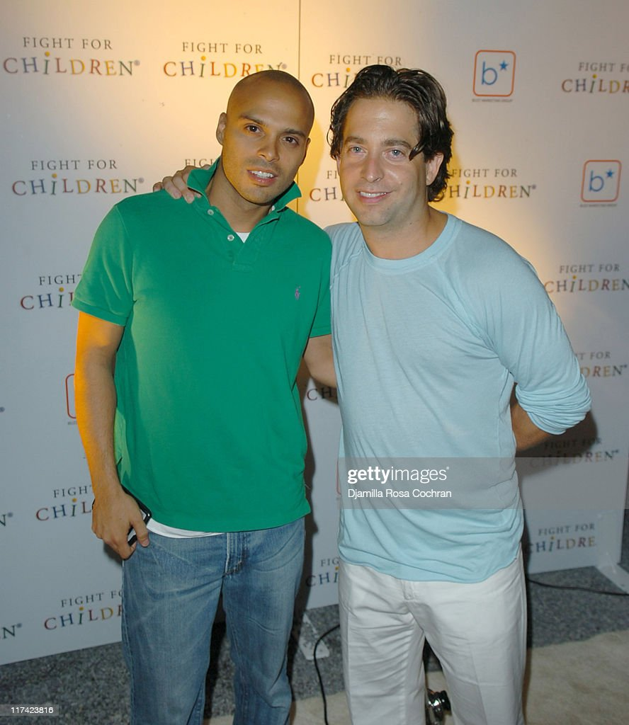 Richie Akiva and Charlie Walk President of Epic Records