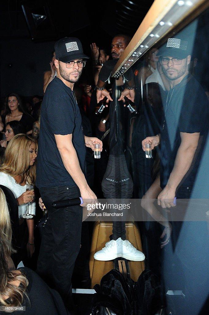 Richie Akiva attends 1OAK LA and Nicki Minaj celebrate music's biggest weekend at 1OAK on February 7 2015 in West Hollywood California