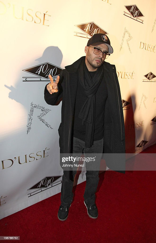 Richie Akiva attends Rihanna's 'Unapologetic' Record Release Party at 40 / 40 Club on November 20, 2012 in New York City.