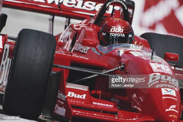 Richie Hearn of the United States drives the Della Penna Motorsports Reynard 99i Toyota V8t during the Championship Auto Racing Teams 1999 FedEx...