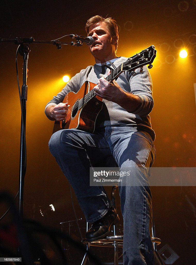 Richie McDonald of band Lonestar performs at Nash Bash at Roseland Ballroom on February 18, 2013 in New York City.