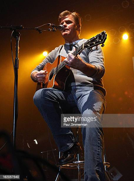 Richie McDonald of band Lonestar performs at Nash Bash at Roseland Ballroom on February 18 2013 in New York City