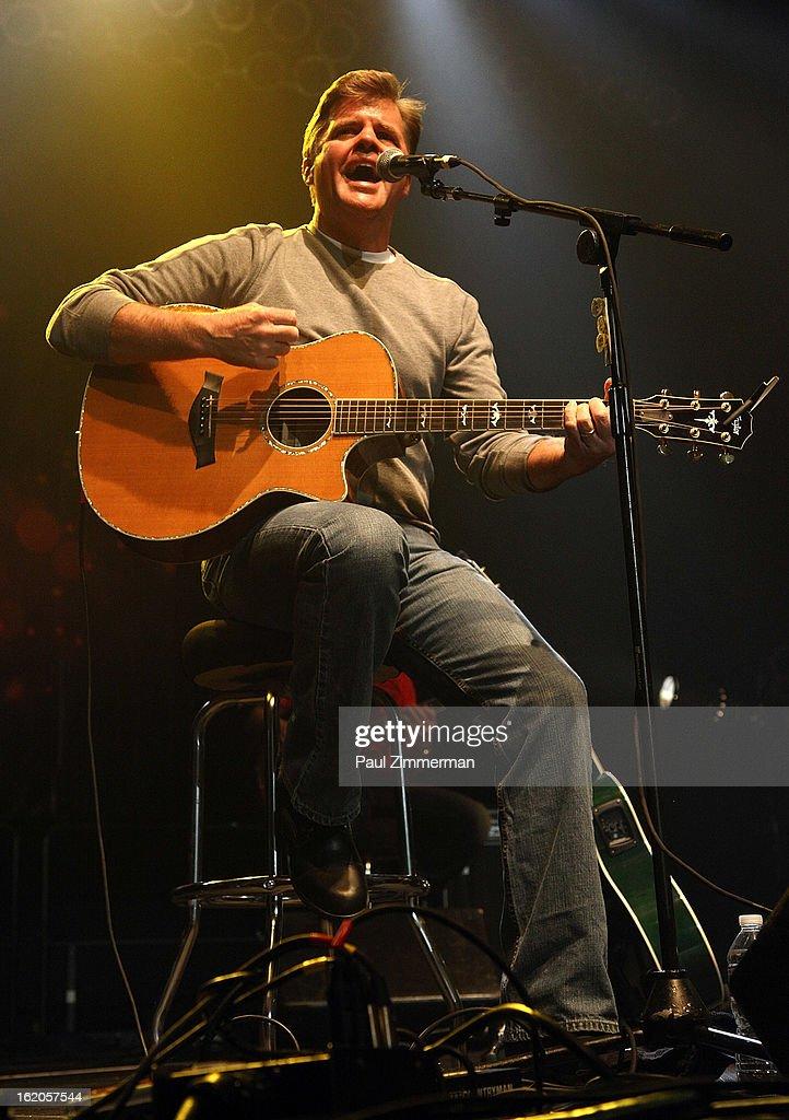 Richie McDonald of band Lonestar performs at Nash Bash at Roseland Ballroom on February 18, 2013 in New York City.