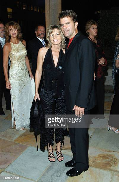 Richie McDonald of Lonestar and wife Gina during 2003 BMI Country Music Awards at BMI Nashville in Nashville Tennessee United States