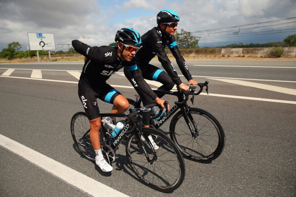 Team sky jaguar stock photos and pictures getty images for Richie porte team sky