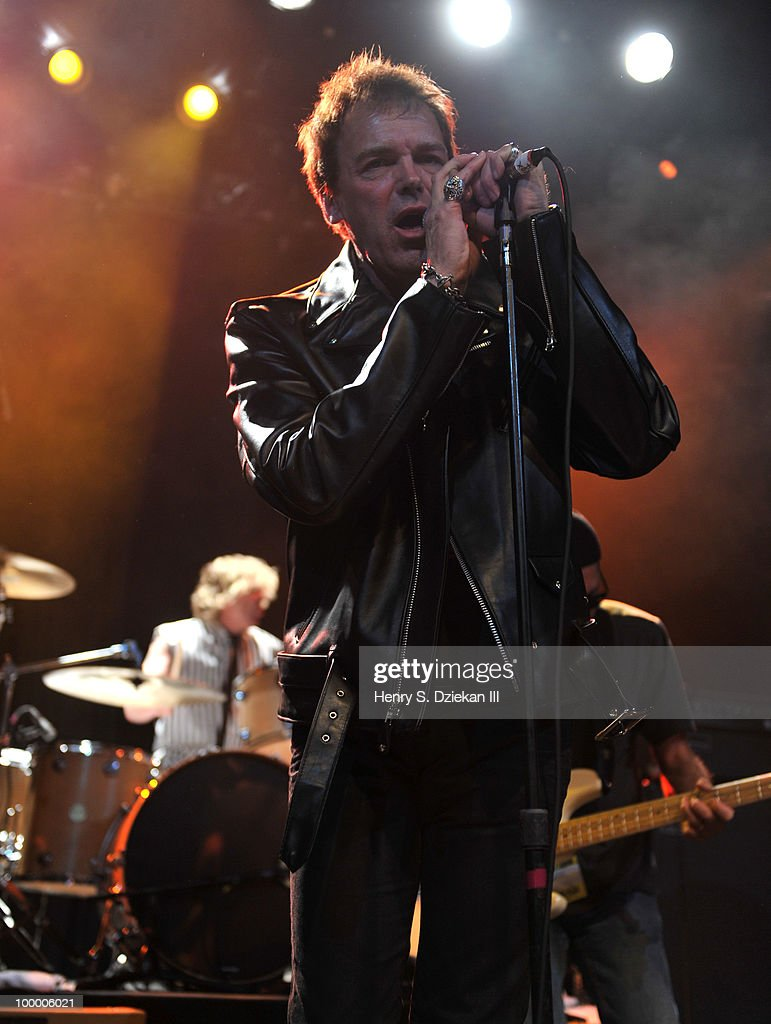 Richie Ramone performs at the Joey Ramone Foundation For Lymphoma Research benefit concert at The Fillmore New York at Irving Plaza on May 19, 2010 in New York City.