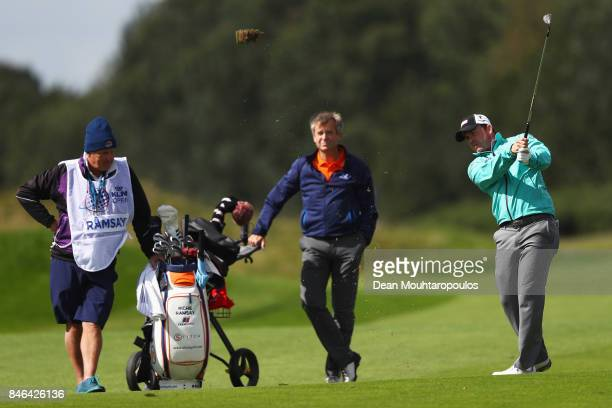Richie Ramsay of Scotland is pictured during the European Tour KLM Open ProAM held at The Dutch on September 13 2017 in Spijk Netherlands