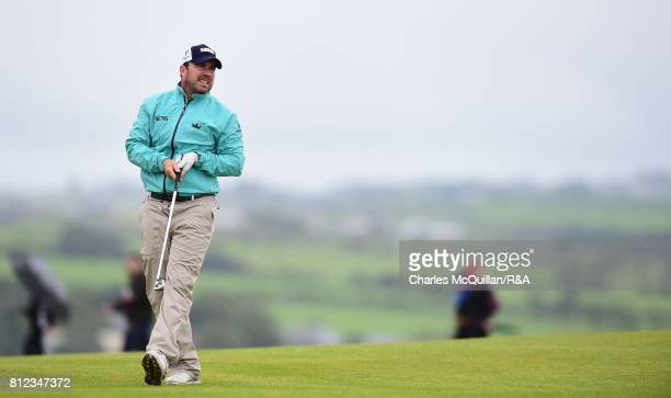 Richie Ramsey of Scotland during the Dubai Duty Free Irish Open hosted by the Rory Foundation at Portstewart Golf Club on July 9 2017 in Londonderry...