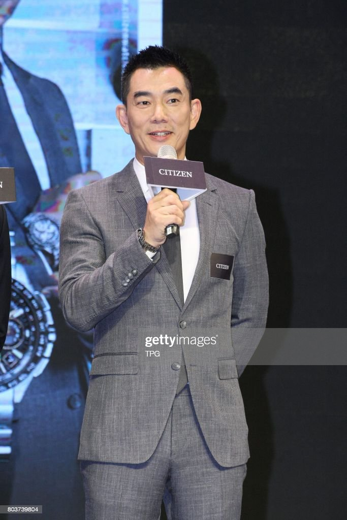 Richie Ren promotoes for CITIZEN Eco-Drive watch on 29th June, 2017 in Taipei, Taiwan, China.