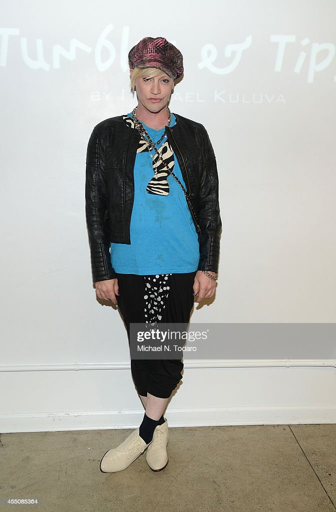 Richie Rich attends the Tumbler And Tipsy by Michael Kuluva Spring/Summer 2015 fashion show during New York Fashion Week on September 9 2014 in New...