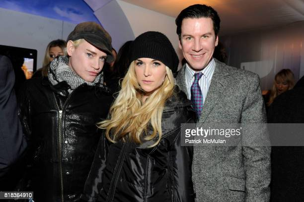 Richie Rich Tinsley Mortimer and Peter Davis attend Cocktails in honor of W Hotels' newly appointed Fashion Director at W Lounge on February 16 2010...
